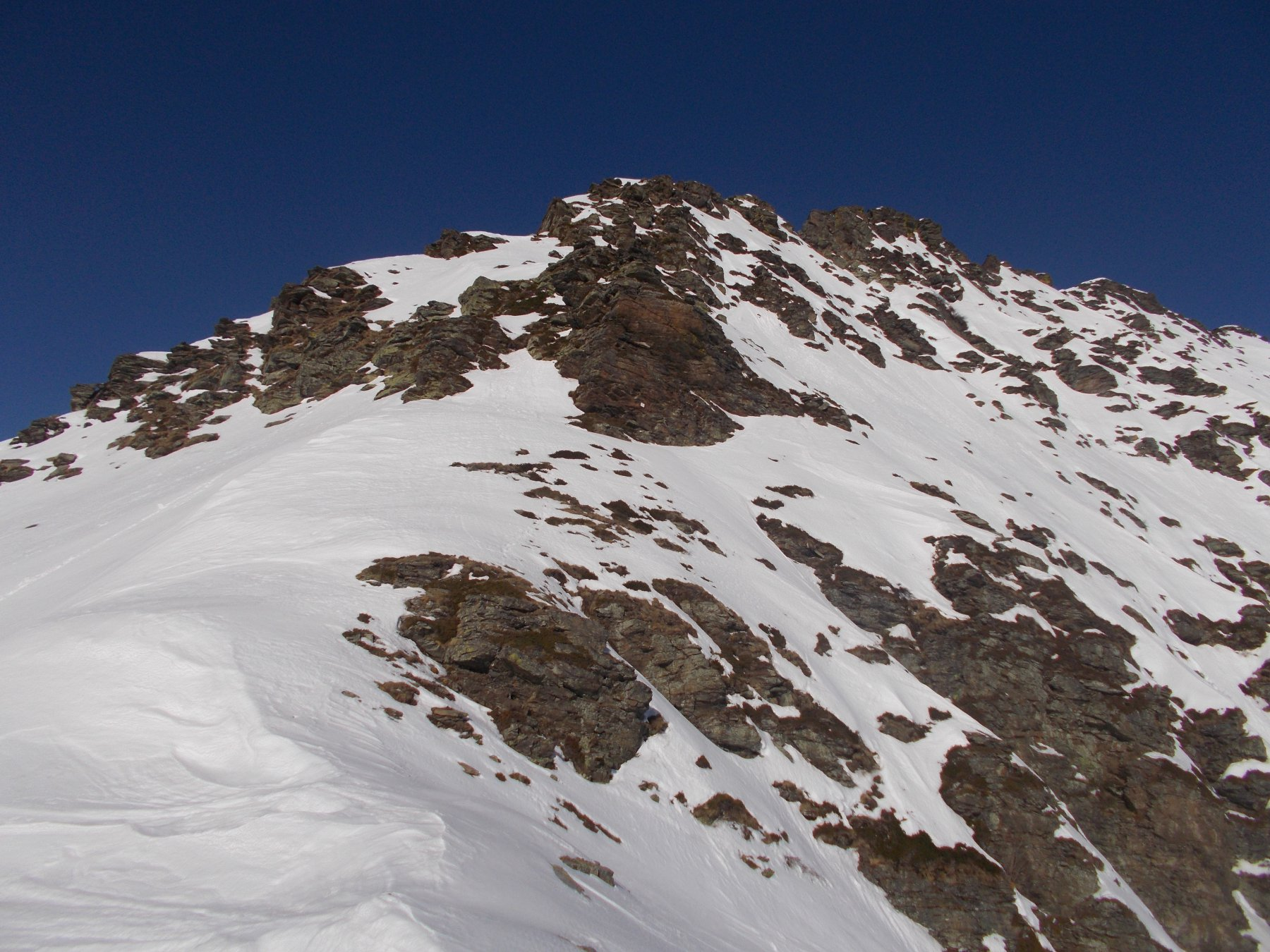 la cresta sud est al Castagnie..dal Col Peyroun