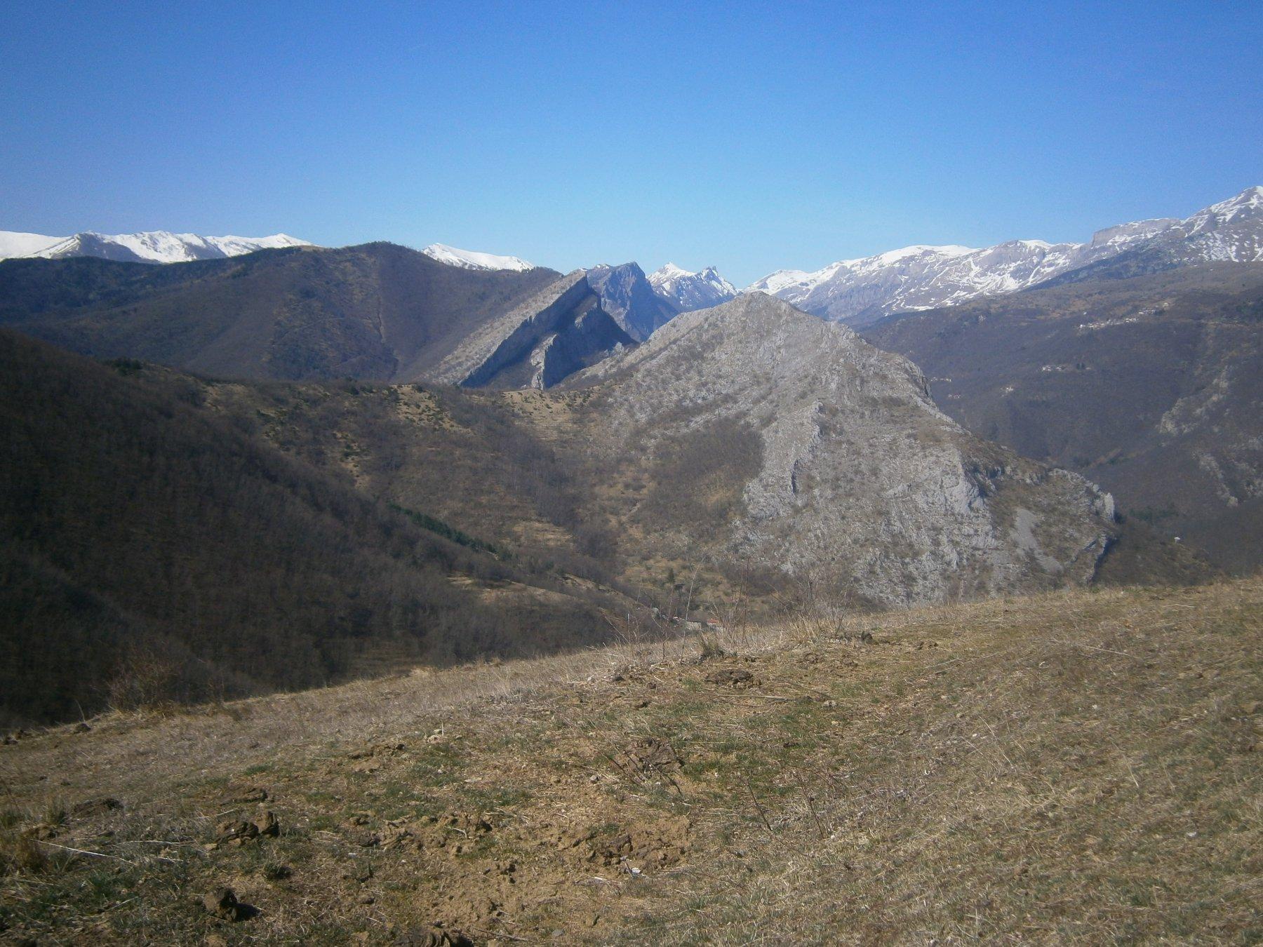 Rocca Ferraira e rocca Il Pizzo