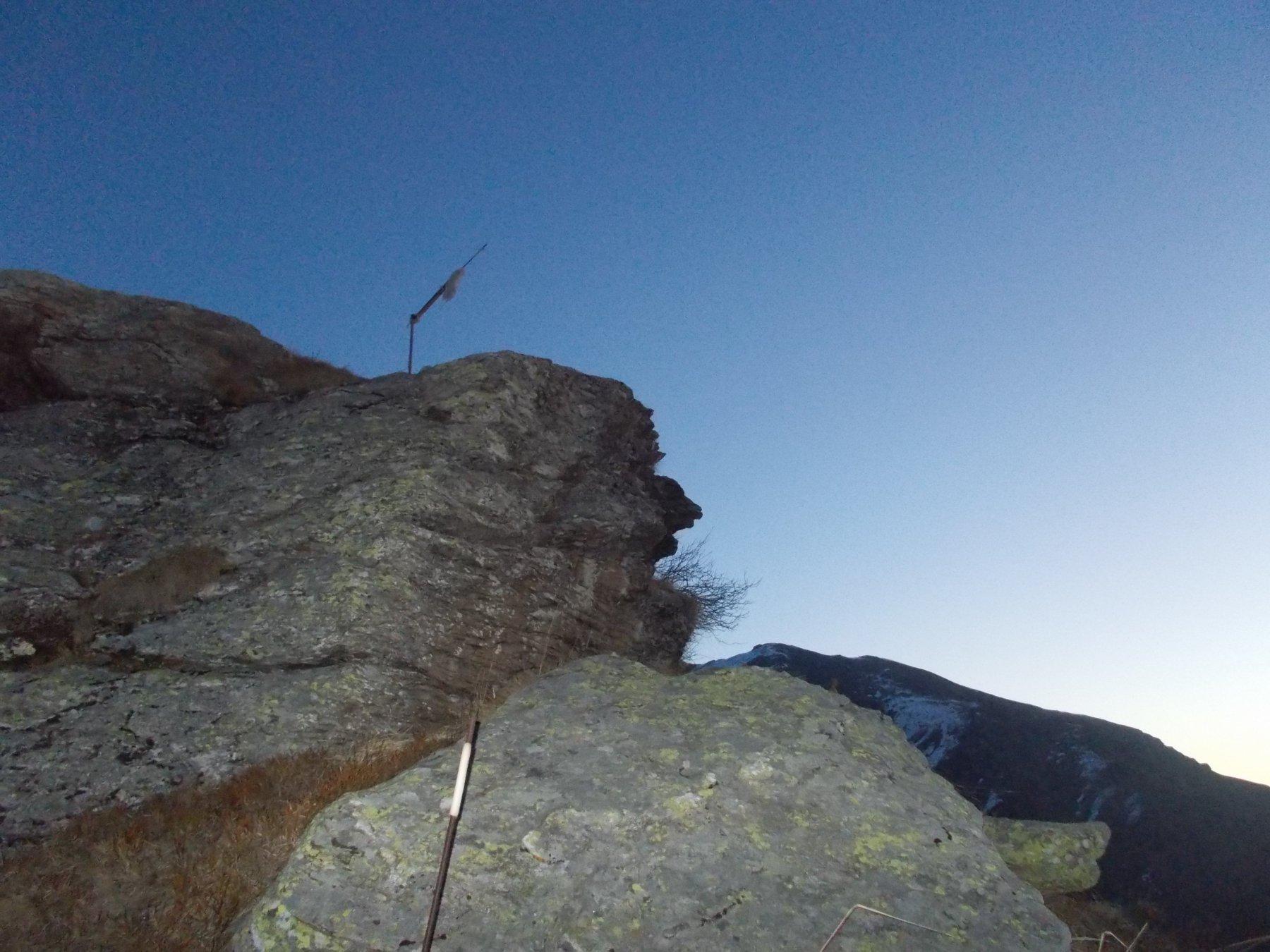 alla Rocca Fautet..e' l'alba..