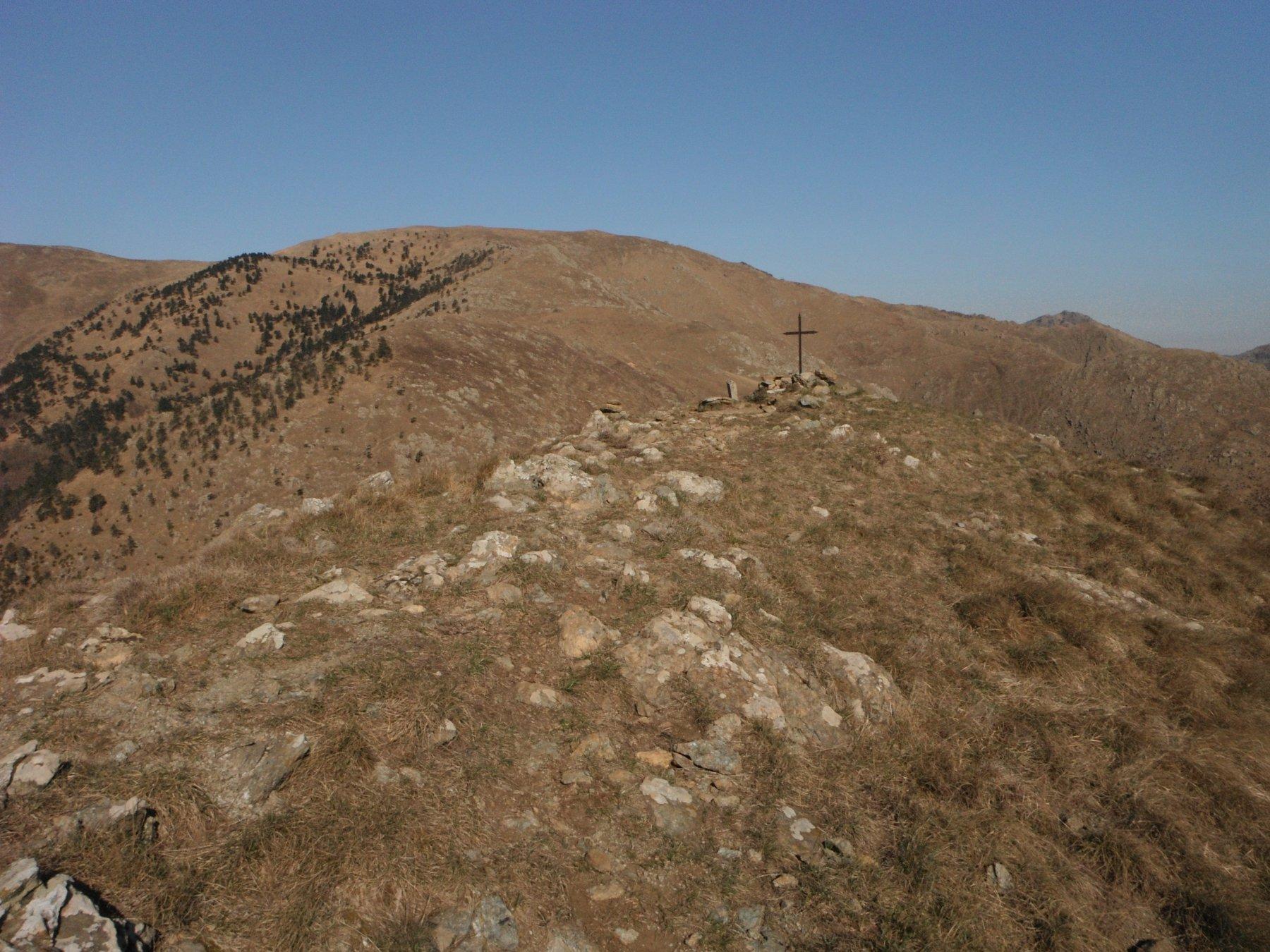 La cima di Ponente del Monte Tardia
