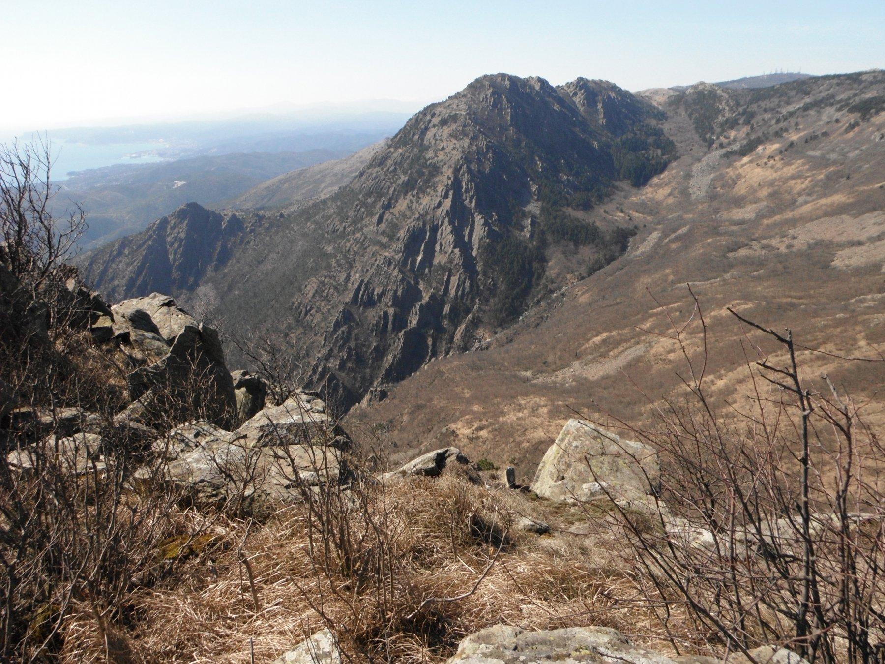 Il Monte Rama dall'Argentea
