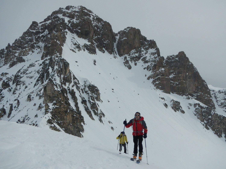 ultimi metri per la cima