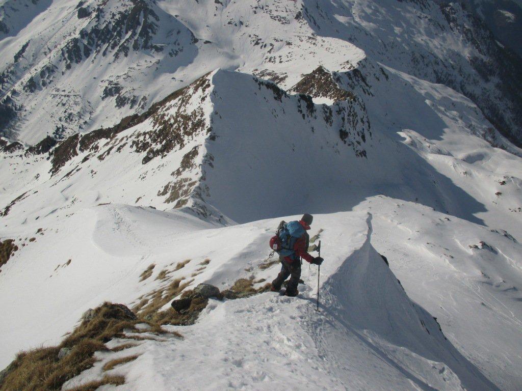 Valegino (Monte)da Tartano per la Val Lunga 2017-03-12