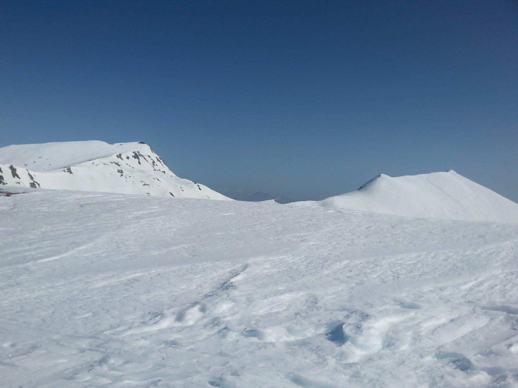 Punta Tempesta e Monte Tibert in lontananza
