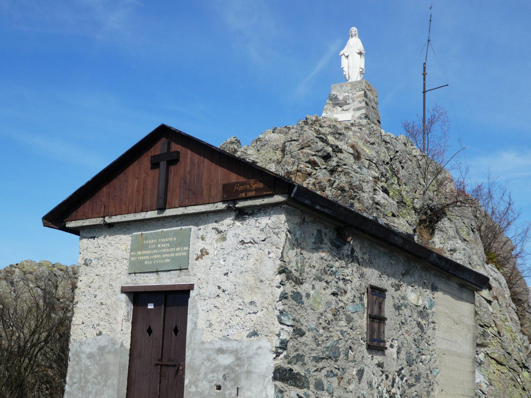 in punta a Rocca Sella