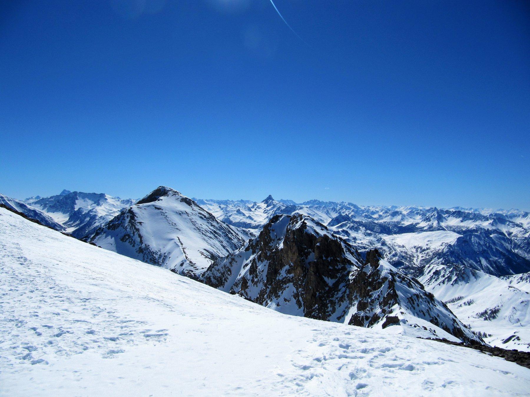 Panorama verso lo Chaberton