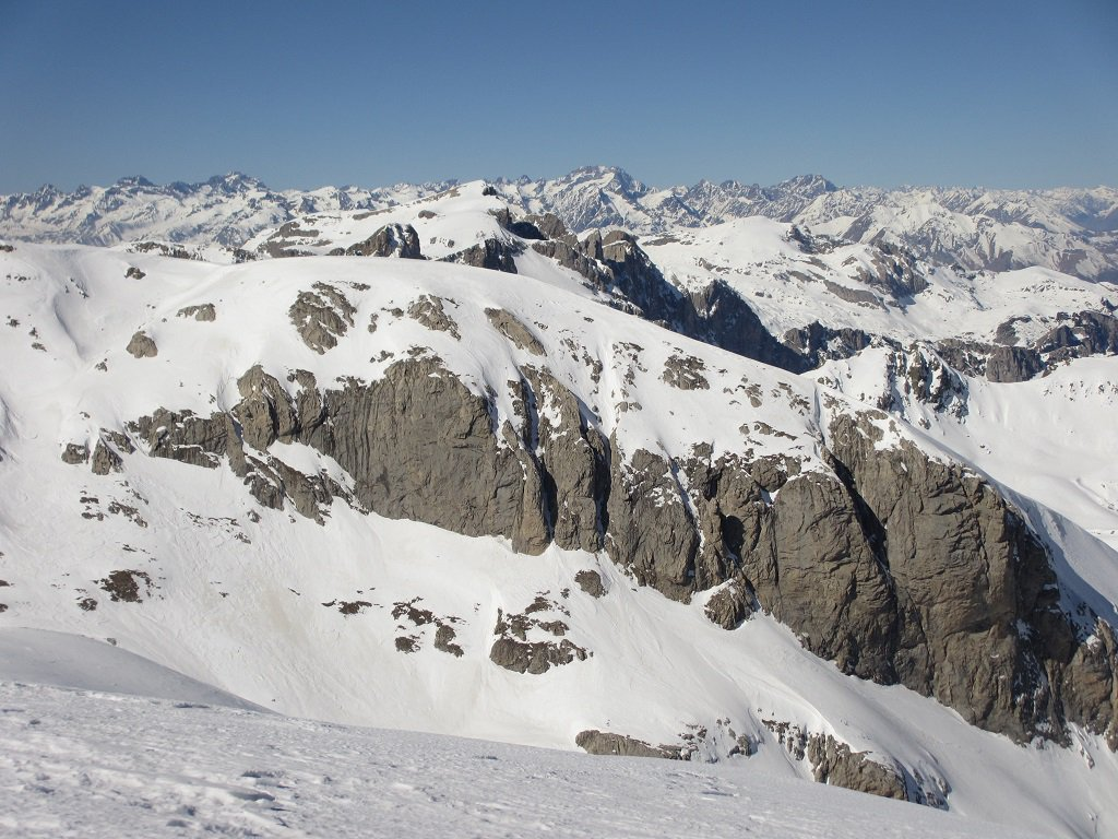 Panoramica verso ovest