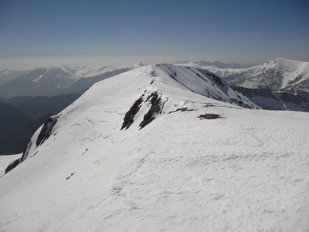 Crinale verso il Monte Ballaur