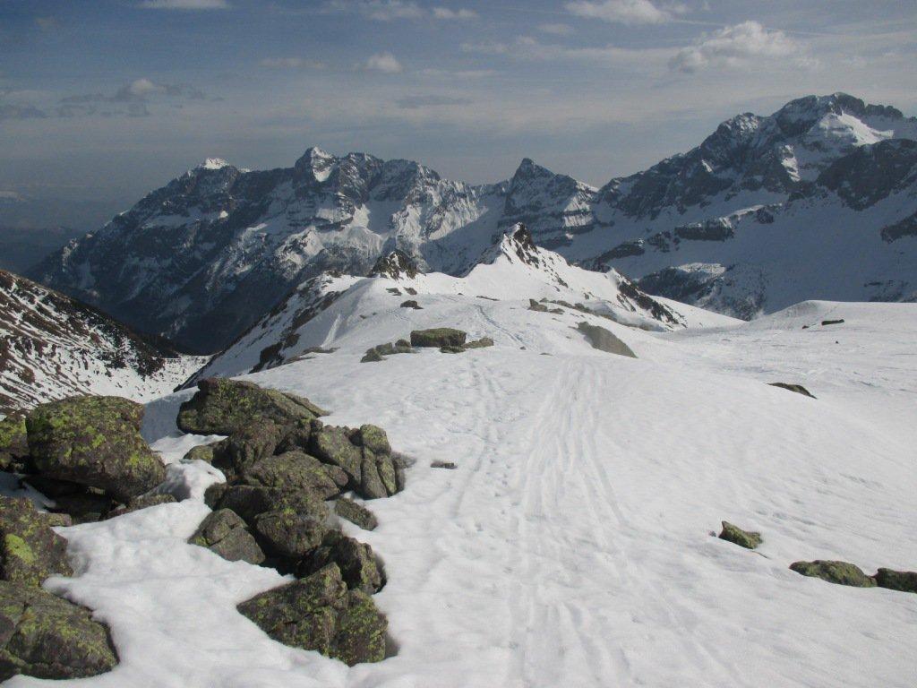 verso il monte delle Galline