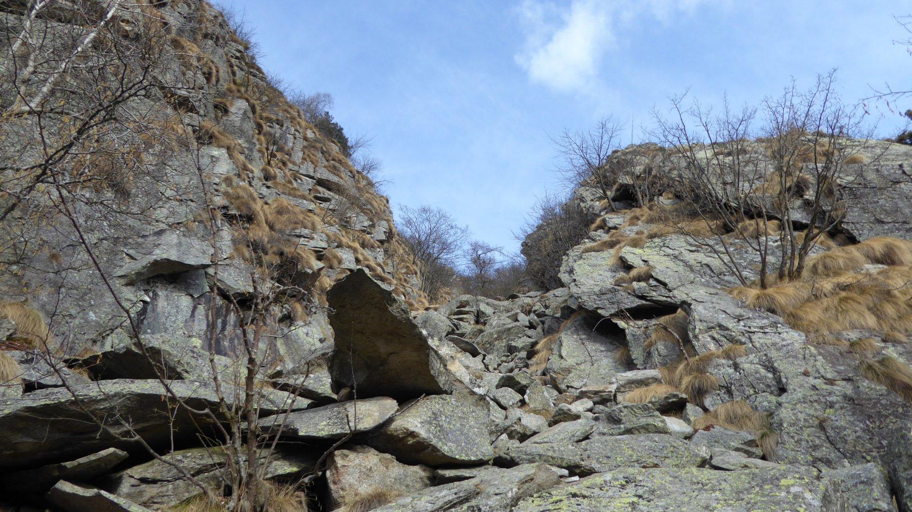 Verso la bocchetta del Mont Bellin