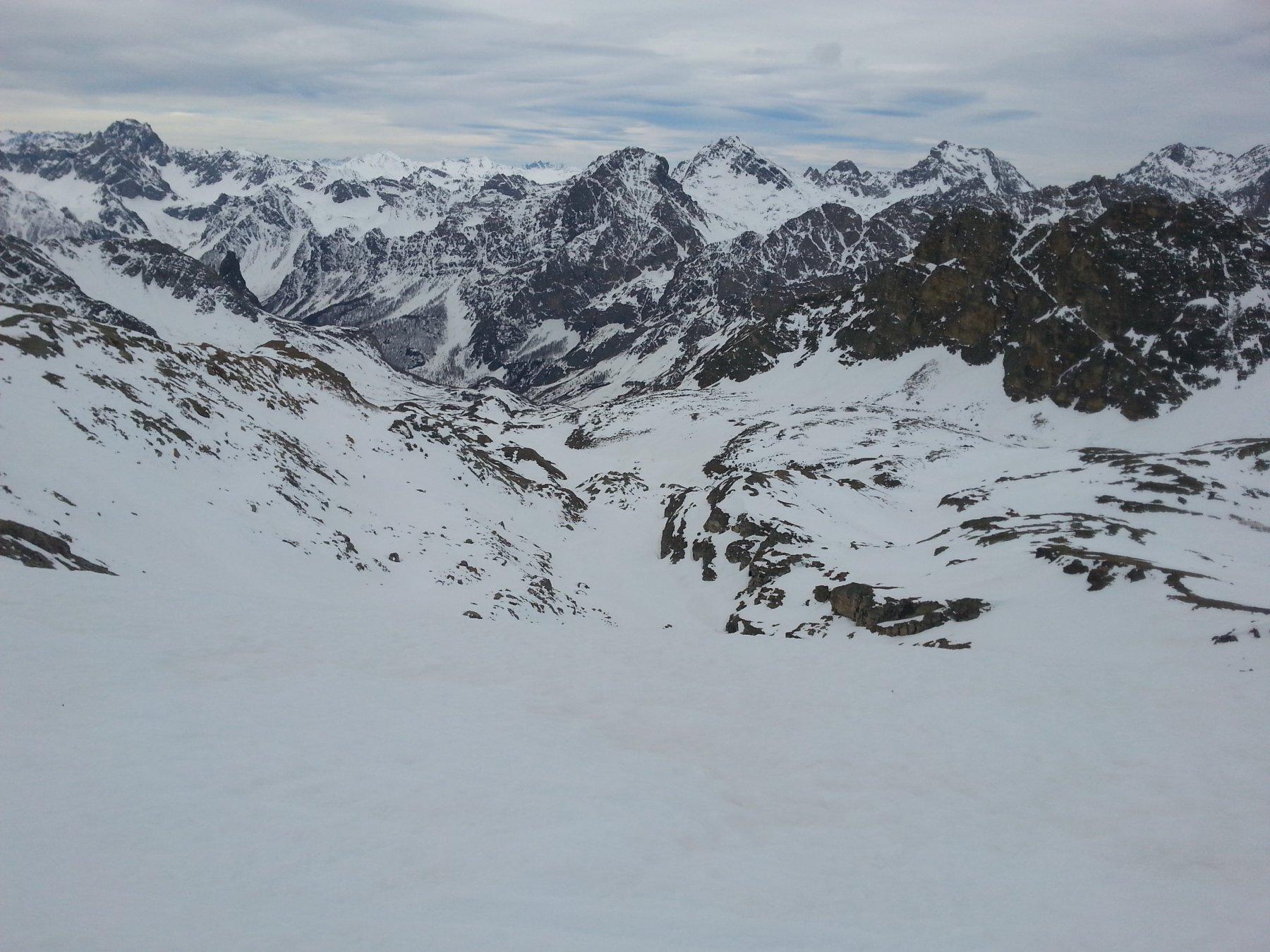 Panorama di salita