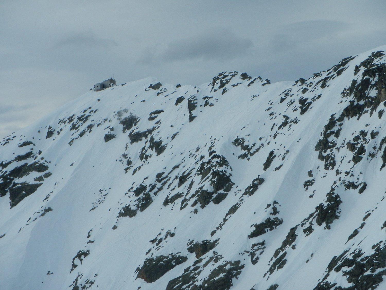 il versante est del Monte Robinet