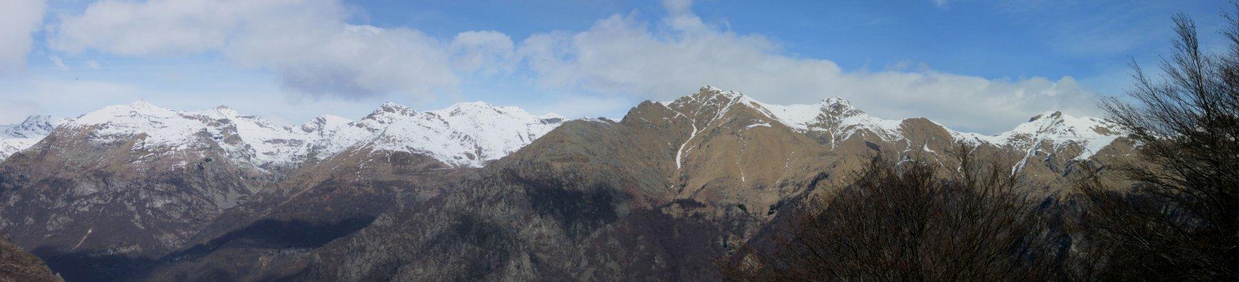 Panorama verso la Valle Grande di Lanzo