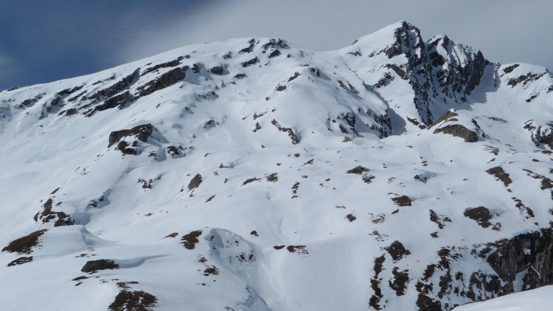 Grande Rochere e percorso di salita