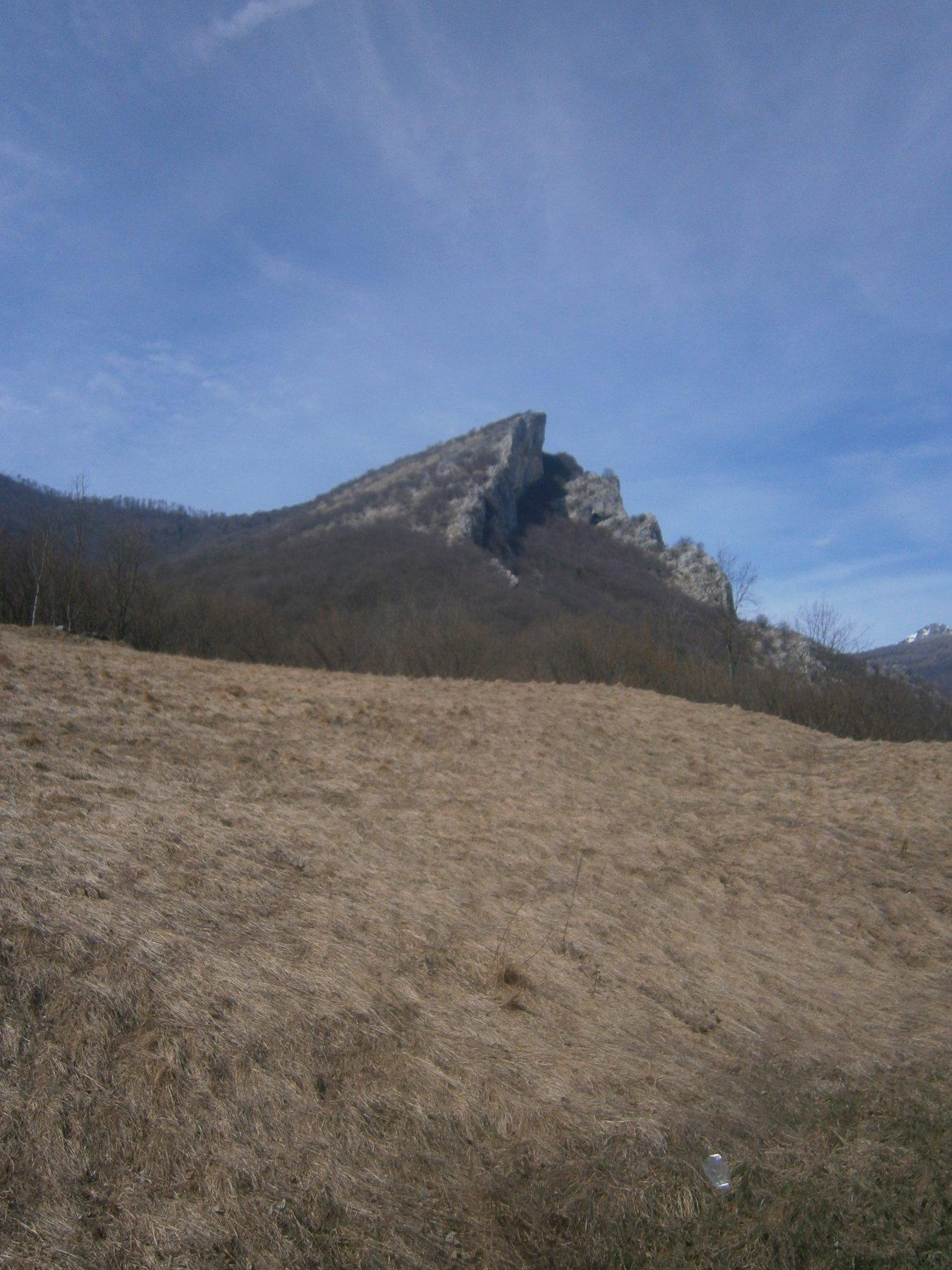 Rocca Pizzo dalla statale