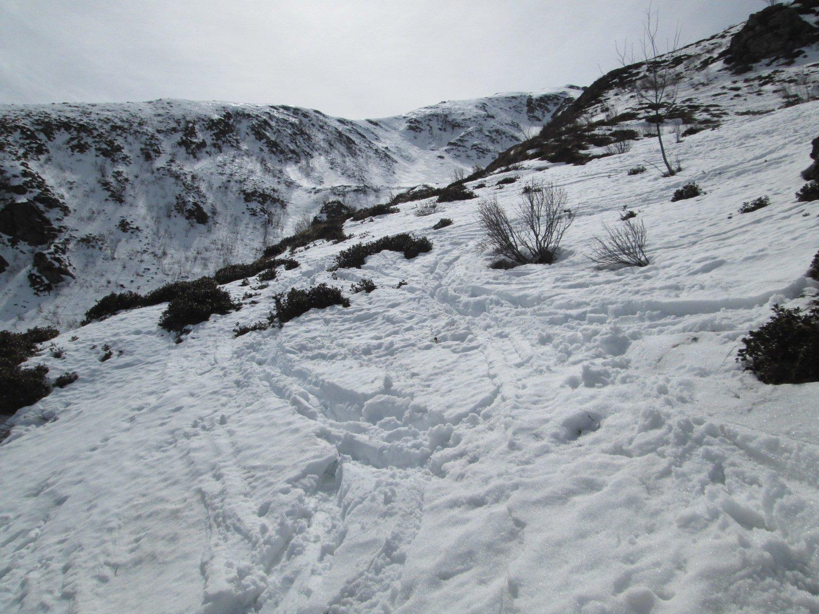 neve pessima sotto i 2.000 metri