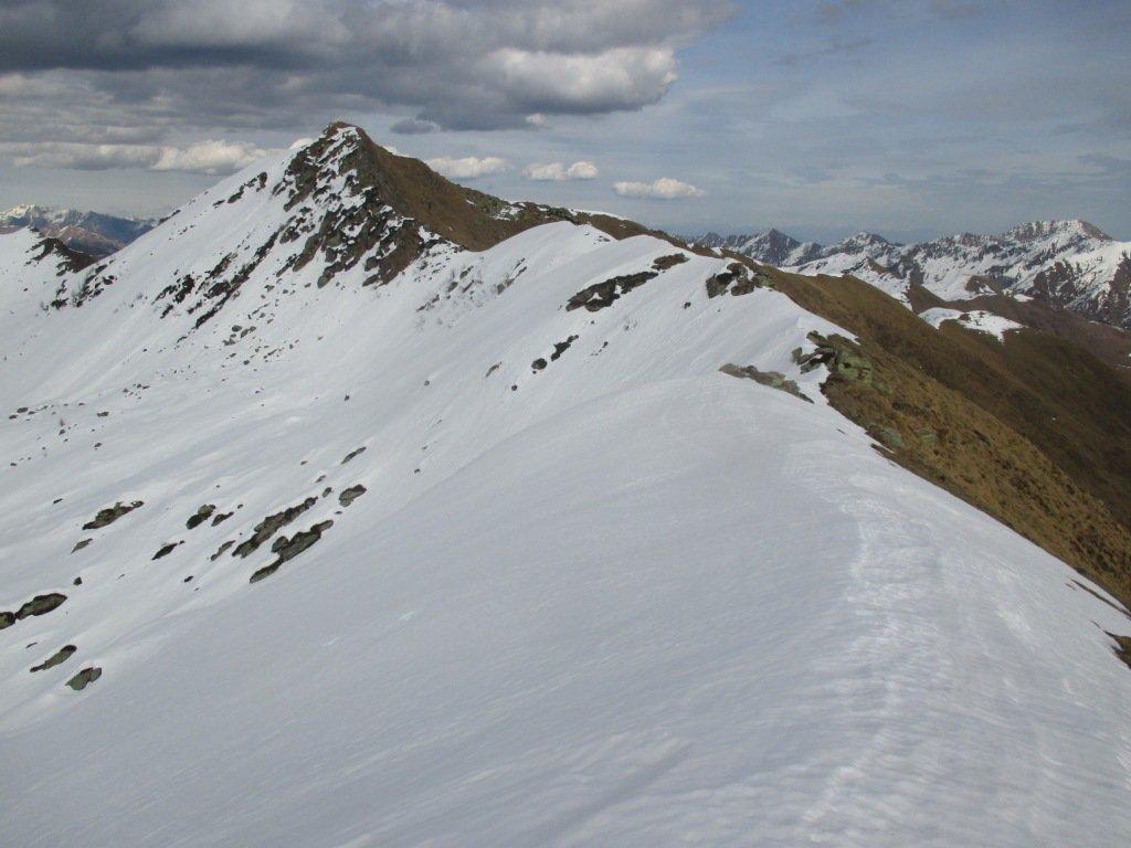 tonda punta con davanti il Testone 3 Alpi