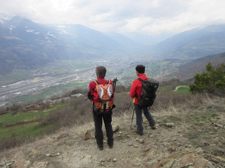 Uno sguardo verso Aosta