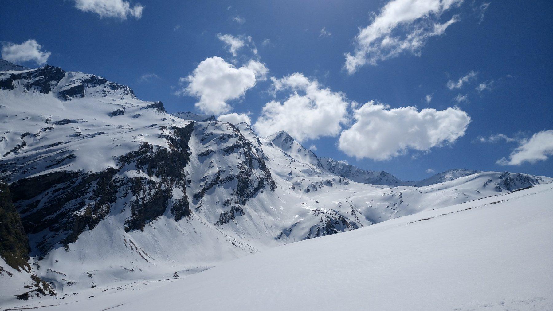 Gletscherhorn   visto dal versante opposto dopo le nostre firme