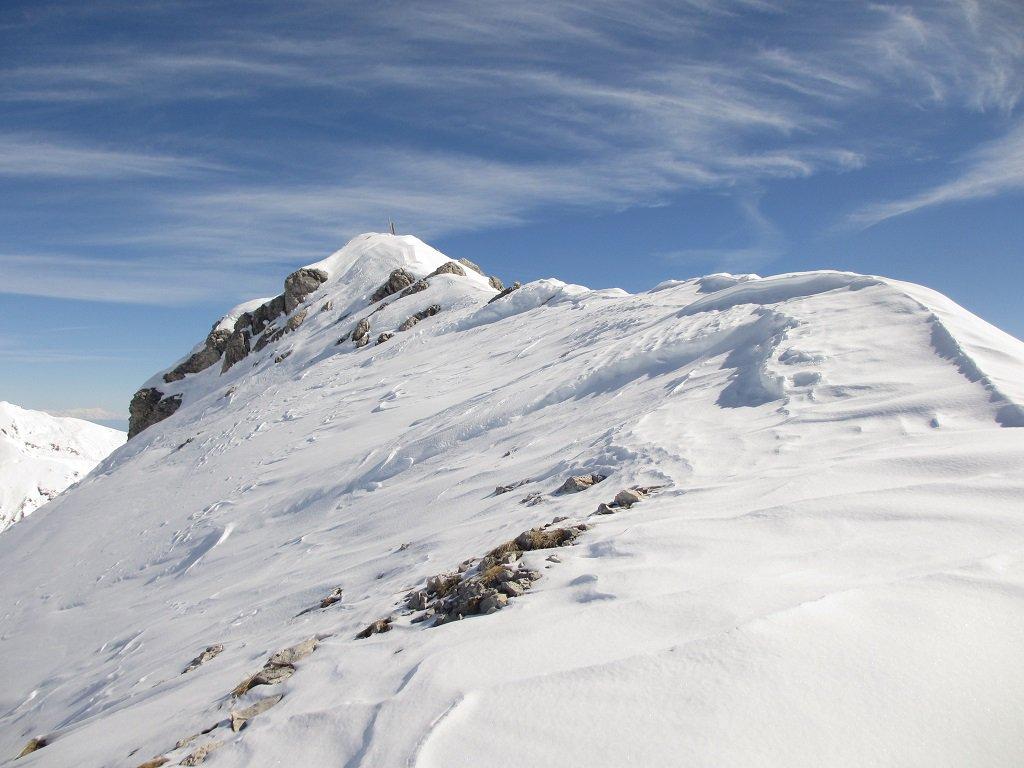 Cima monte Savi