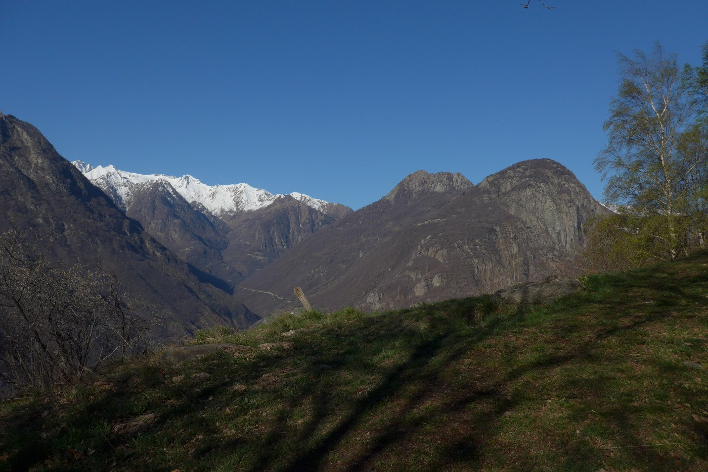 Panorama sul vallone di Champorcher