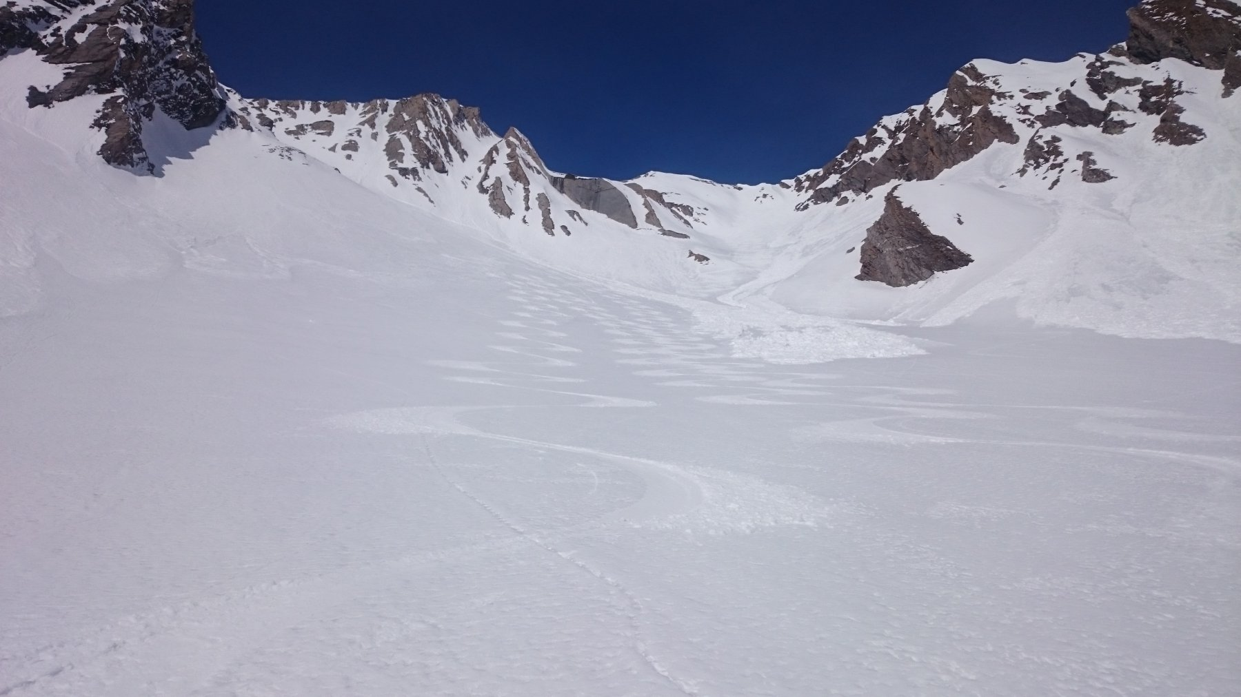 Belle curve su neve trasformata