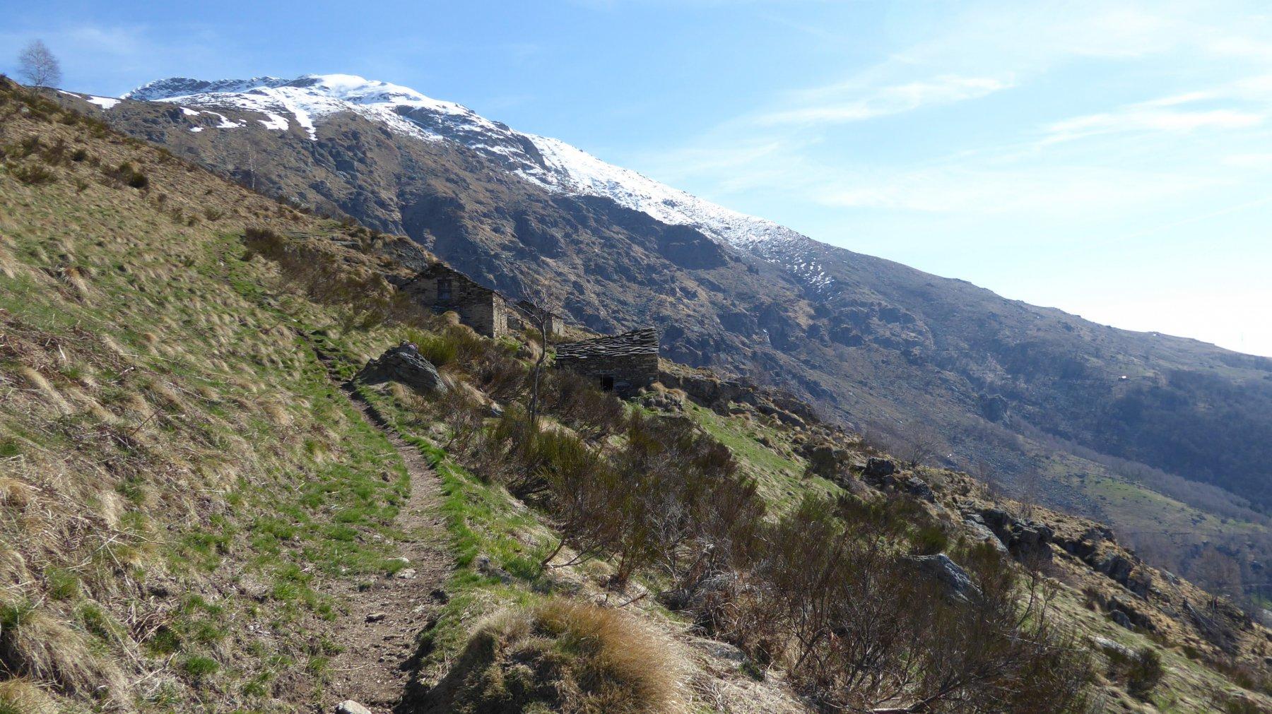 Baite e Punta Quinzeina nord