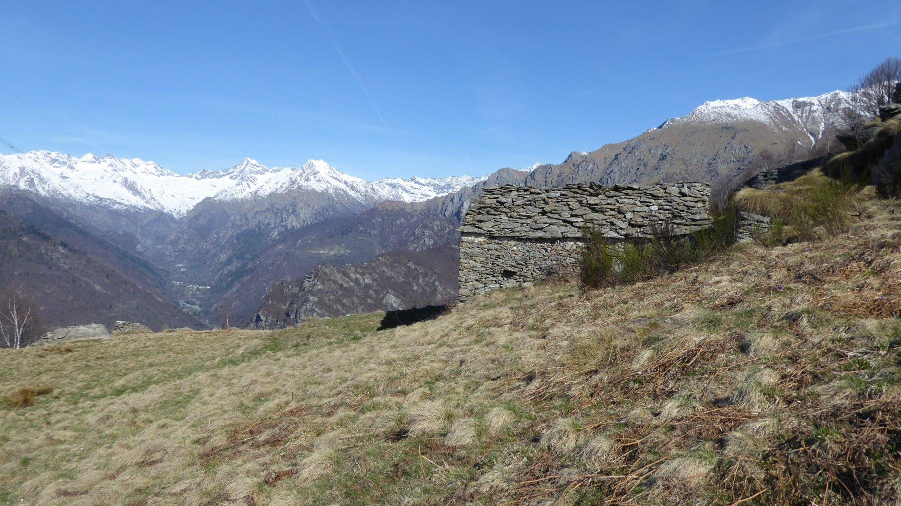 Bel colpo d'occhio sulla Val Soana