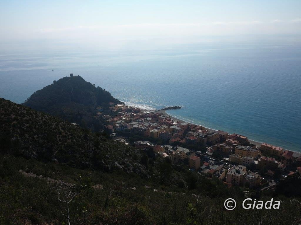 Vista su Varigotii e Punta Crena