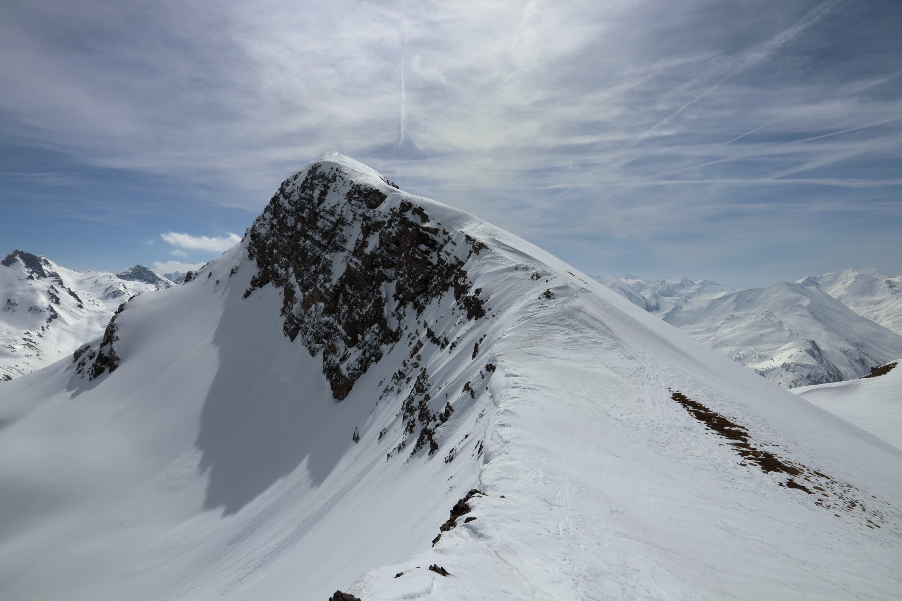 La cresta NO del Peyron