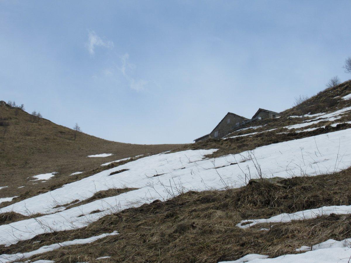 Arrivo all'Alpe La Ciarma
