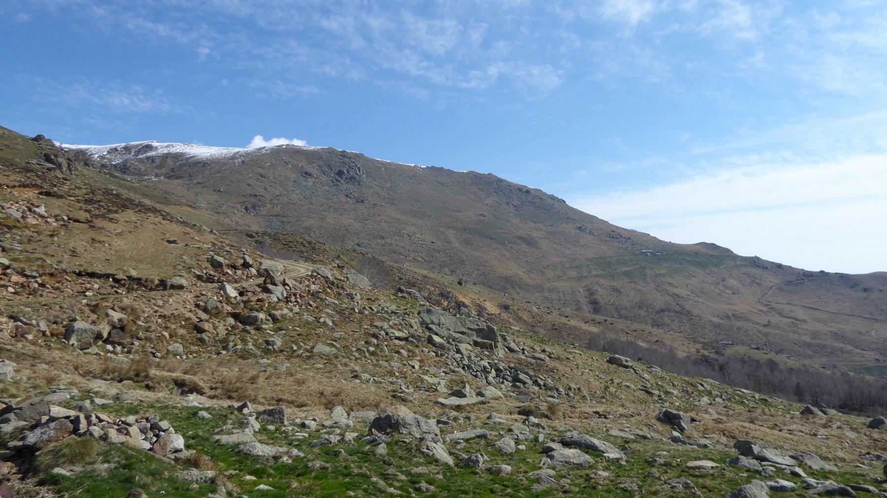 Da Pinalba, la cresta del Bric Paglie
