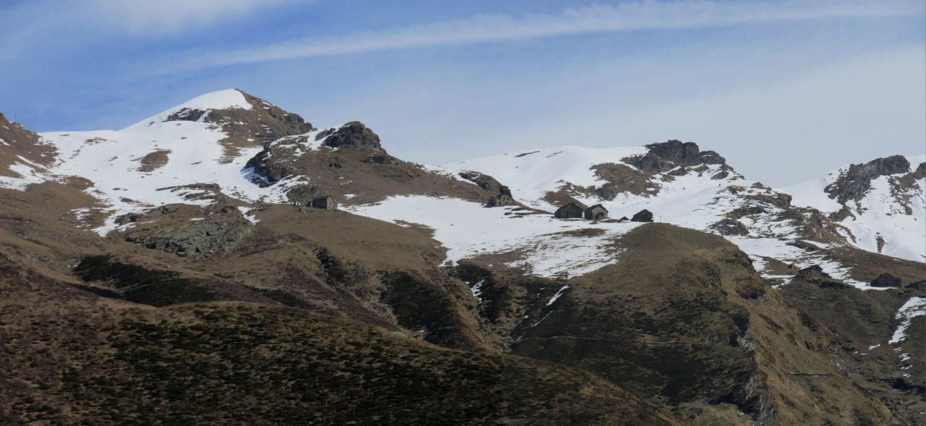 Panorama verso La Bocchetta di Campello