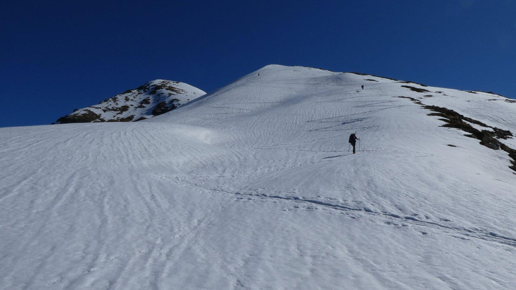 l'ampia dorsale SO vista dall'Alpe Litteran