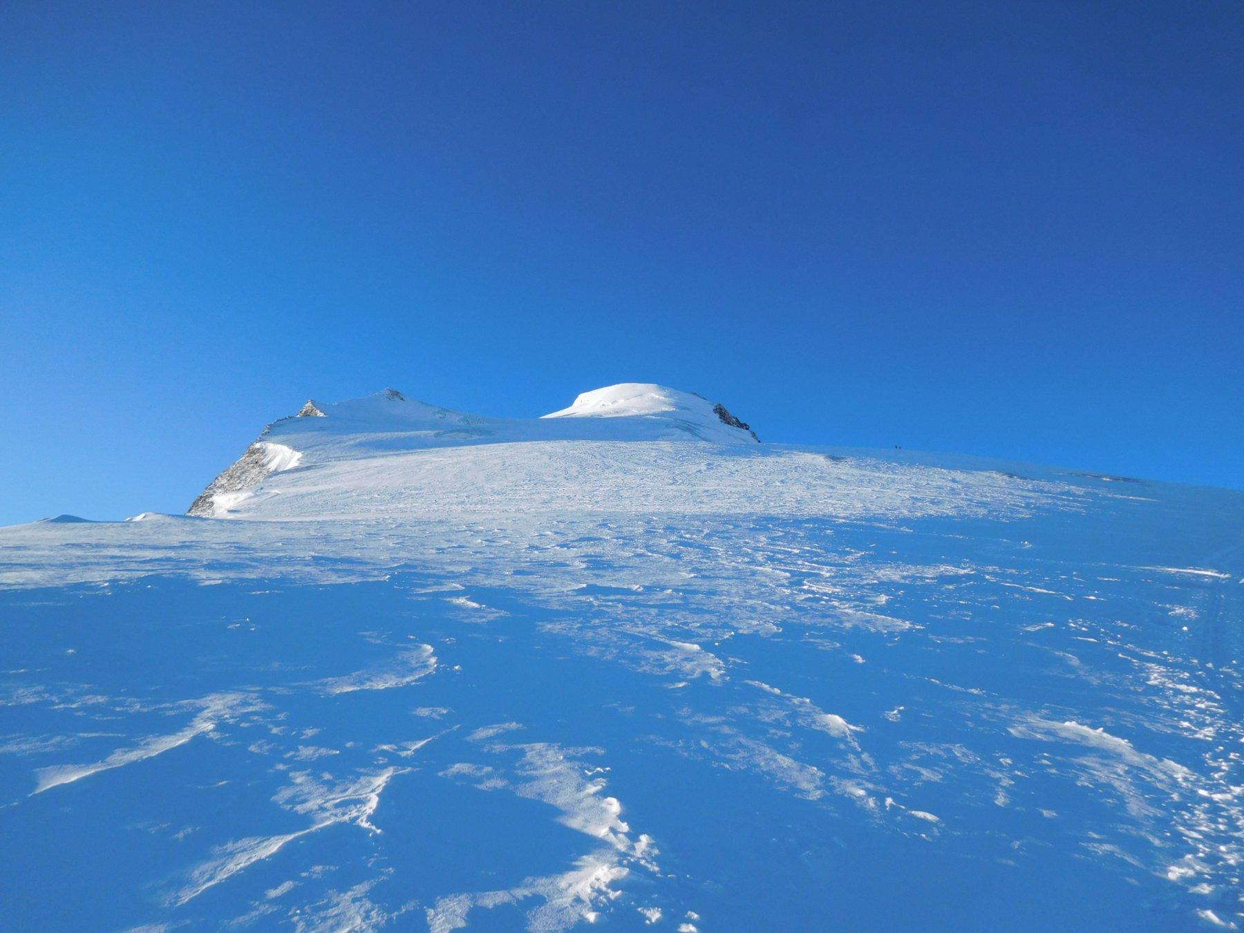 la calotta della cima