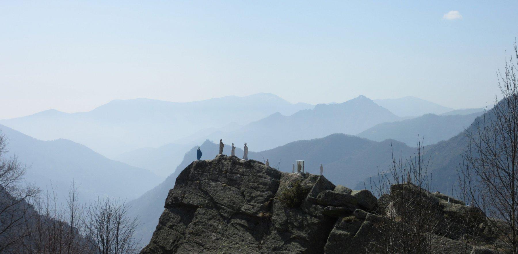 Panorama verso la basse valle di Lanzo