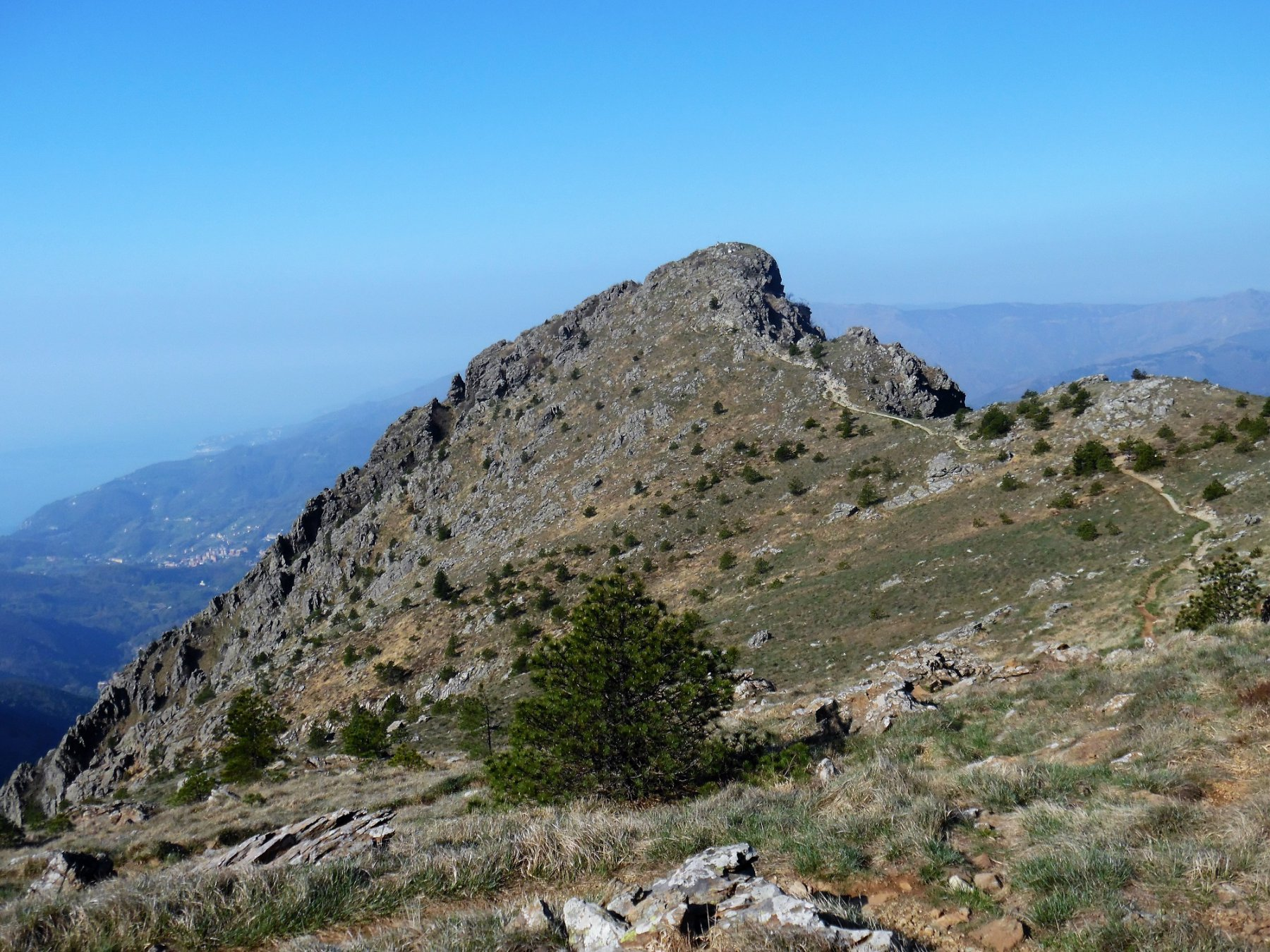 Martin (Punta) e Monte Penello da Acquasanta, anello 2017-04-08