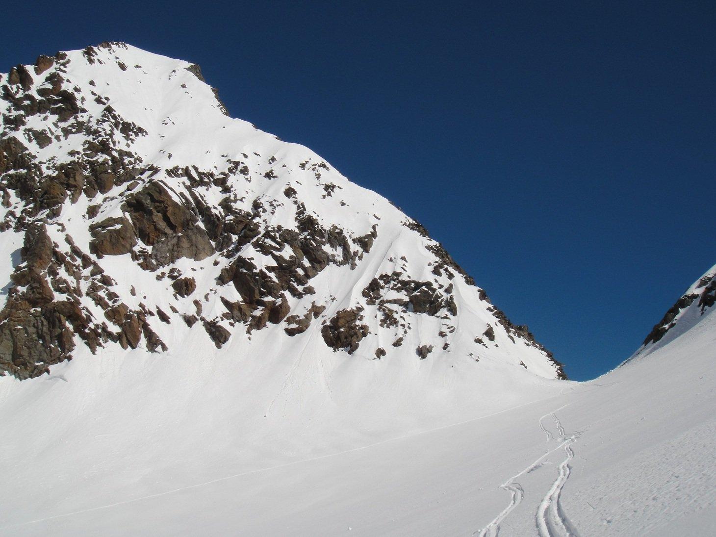 Colle di Monveso e cresta di salita