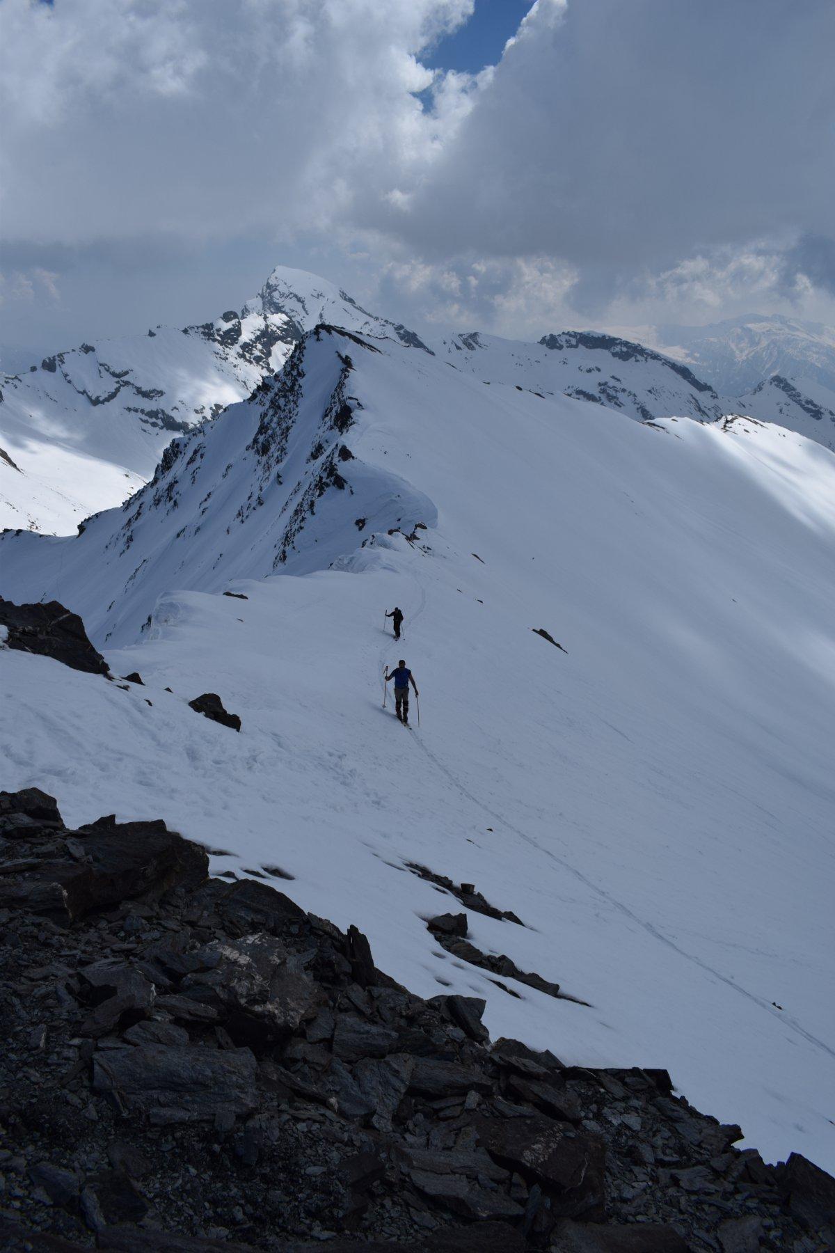 l'ultimo tratto prima della cima