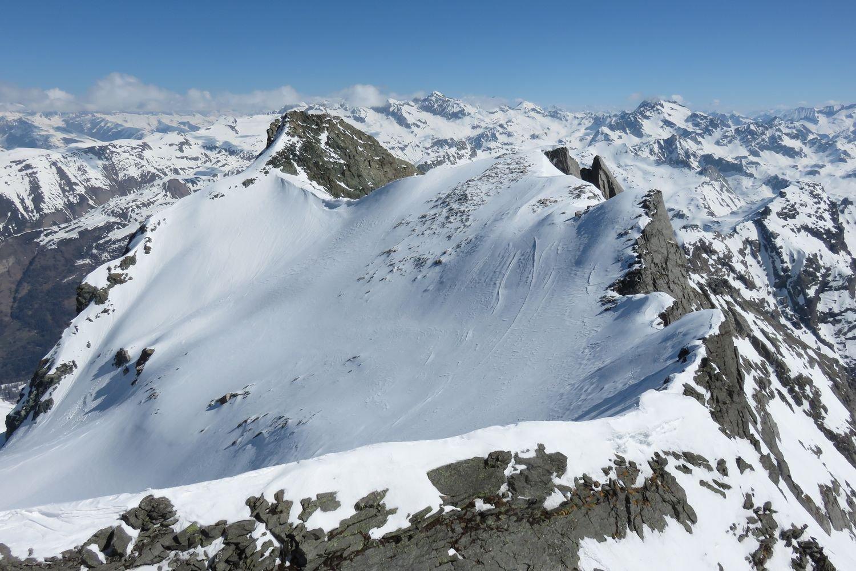 cresta verso il Colle Marani