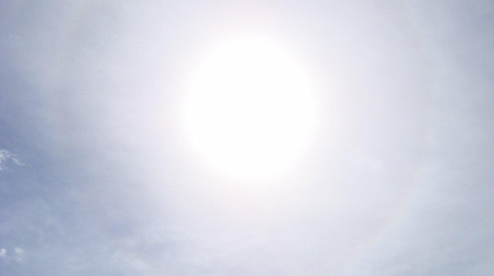 il sole col circolo