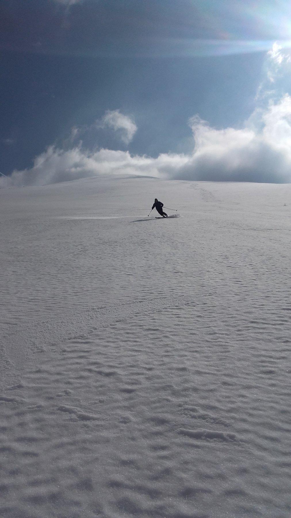 ....neve spettacolare