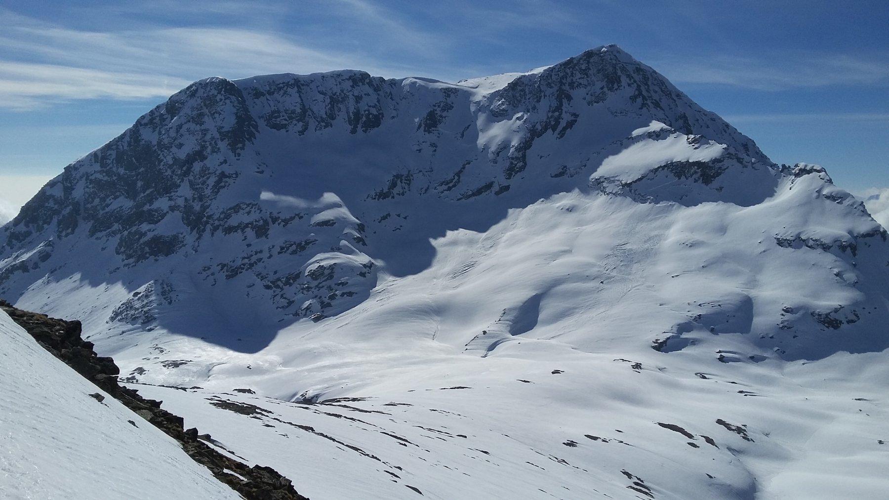 versante nord del Giusalet