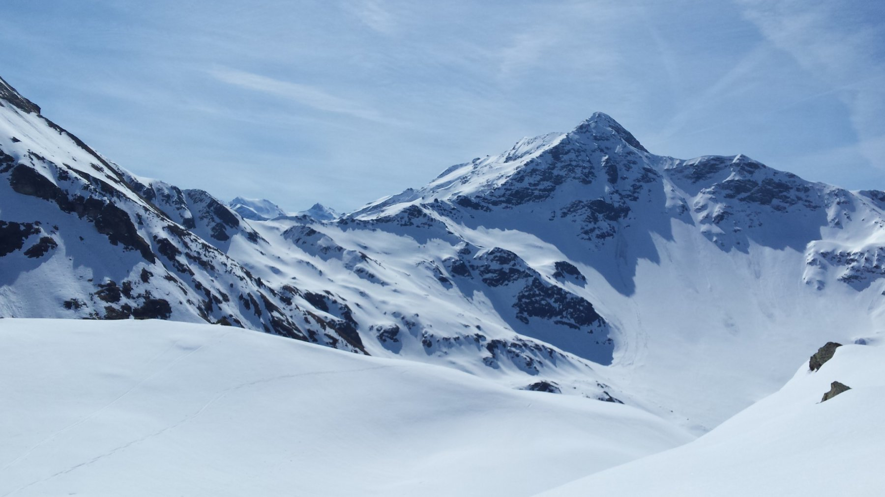 col du Mont visto dal col Montseti