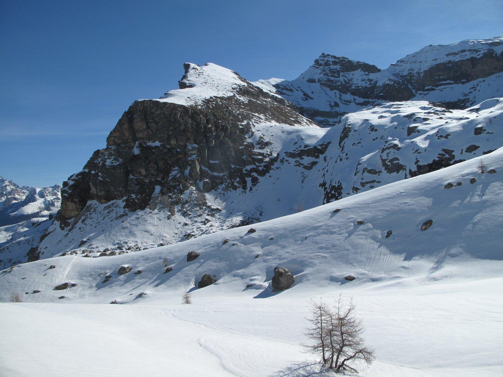 Manca la neve sul Bric Camosciera
