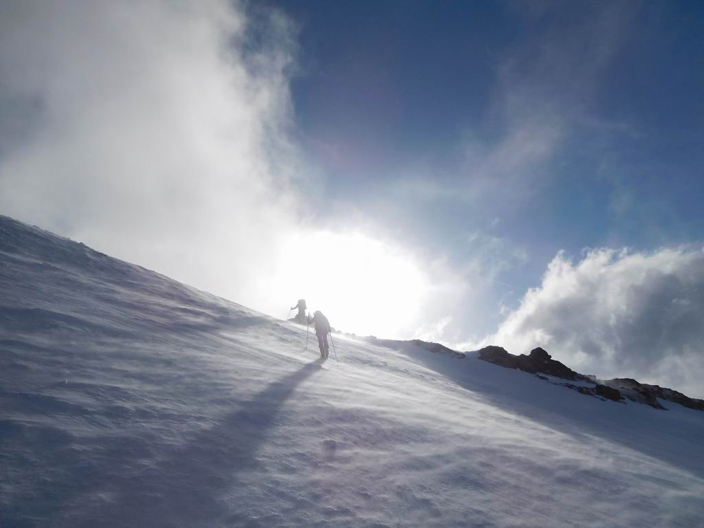 Verso il Col du Pelve