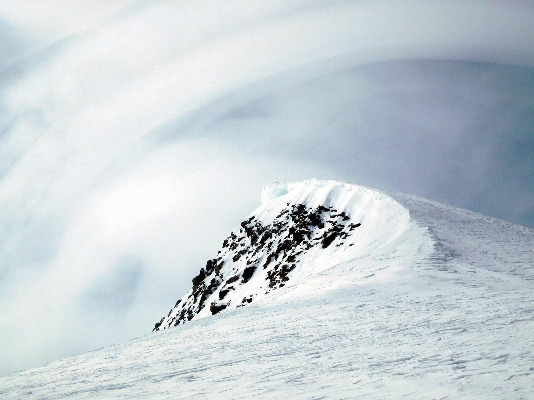 D2 nubi da vento sul Dome de l'Arpont
