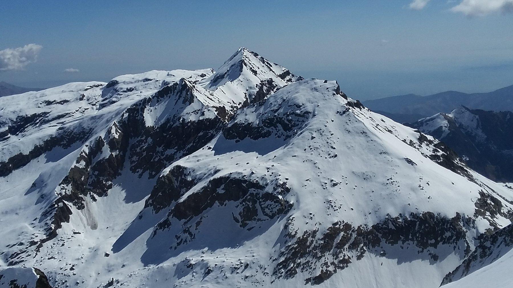 Da cima Ortetti, il trittico : Chiavesso, Ciorneva e Golai