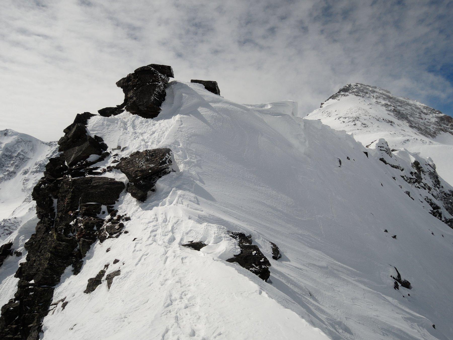 Ultimi metri di cresta e cima