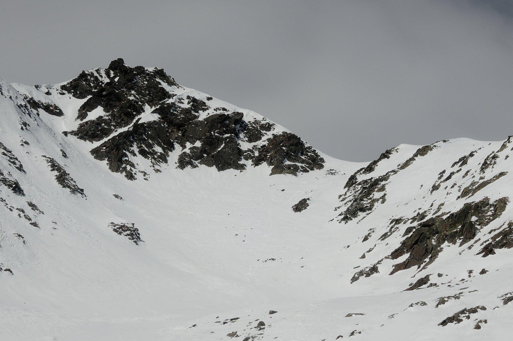 La cima e l'ultimo pendio